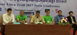 អ្នករត់ប្រណាំង ព្រឹត្តិការណ៍ Angkor Ultral Trail 2017 ប្រមាណ៥០០នាក់មកពី២៧ប្រទេស