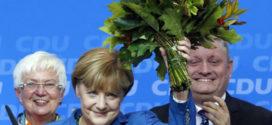 គណបក្សកាន់អំណាចនៅអាល្លឺម៉ង់ CUD របស់លោកស្រី Angela Merkel មានប្រៀបនៅក្នុងការបោះឆ្នោត