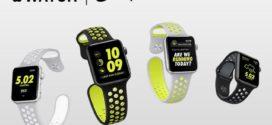ម៉ូដនាឡិកា Apple ចុងក្រោយគេបង្អស់ជាមួយខ្សែជ័រម៉ាក Nike