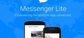 កម្មវិធី Messenger Lite របស់ Facebook បានសាយភាយទៅកាន់ប្រទេសច្រើនជាង132 ប្រទេស