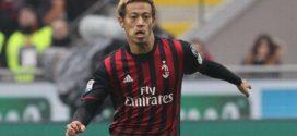 តារាងបាល់ទាត់ជប៉ុន Keisuke Honda សម្រេចចិត្តដើរចេញពីAC Milan