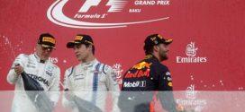 ជើងខ្លាំងពីរប៉ះគ្នានៅ Azerbaijan Grand Prix ខណៈ Ricciardo ជាអ្នកទទួលជ័យជម្នះ