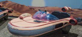 Star Wars landspeeder សម្រាប់ក្មេងជិះលេងមានតំលៃ $ 500