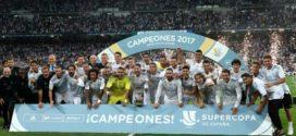 Real Madrid លើកពានអេស្ប៉ាញ Super Cup ក្រោយយកឈ្នះ Barcelona 5-1 ទាំង២ជើង