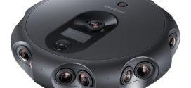 Camera 360 Round livestreams 3D VR របស់ Samsung