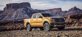 រថយន្ត Ranger 2019 របស់ក្រុមហ៊ុន Ford ត្រូវបានដាក់លក់នៅពិព៌ណ Detroit Auto
