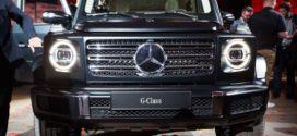 Mercedes-Benz G-Class 2019 មានរូបរាងសាមញ្ញ តែម៉ាសុីនទំនើបអស្ចារ្យ