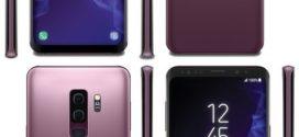 រូបភាពស្មាតហ្វូន Galaxy S9 កាន់តែលេចធ្លោជាមួយនឹងកម្មវិធីស្កេនស្នាមម្រាមដៃនិងពណ៌ភ្លឺ