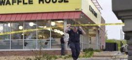 ប៉ូលិសអាមេរិកកំពុងតាមប្រមាញ់ខ្មាន់កាំភ្លើងបាញ់ប្រហារសម្លាប់មនុស្ស៤នាក់នៅភោជនីយដ្ឋាន Waffle House