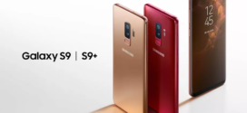 Samsung Galaxy S9s ពណ៌មាស និង Burgundy មើលទៅគួរឱ្យស្រឡាញ់ប៉ុន្តែមិនមានលក់នៅសហរដ្ឋអាមេរិក