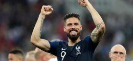 ទោះបីបារាំងឈ្នះពាន World Cup តែខ្សែប្រយុទ្ធ Olivier Giroud រកមិនបានមួយគ្រាប់សោះ