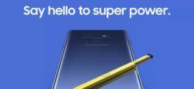 ក្រុមហ៊ុន Samsung បានបង្ហាញរូបរាងថ្មីមួយទៀតរបស់ Galaxy Note 9