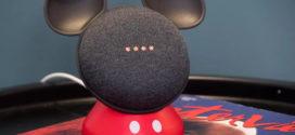 ឧបករណ៍សម្រាប់ដាក់បញ្ឈរ Google Home Mini មានរូបរាងគួរឲ្យស្រឡាញ់ដូចតុក្កតា Mickey Mouse