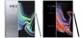 ក្រុមហ៊ុន Samsung បានចេញ Note 9 ពណ៌ប្រាក់ និងនាំយកម៉ូដែលពណ៌ខ្មៅទៅកាន់សហរដ្ឋអាមេរិក