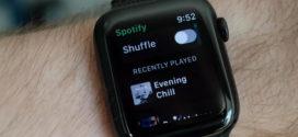 Spotify ចាប់ផ្តើមសាកល្បងកម្មវិធី Apple Watch របស់ខ្លួន
