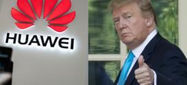 លោក ត្រាំ បន្ទន់ឥរិយាបទទៅលើក្រុមហ៊ុន Huawei