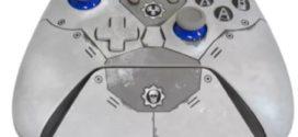 ក្រុមហ៊ុន Microsoft បានបង្ហាញ Xbox One X Console ដែលមាន Gears-themed ដែលមើលទៅកក