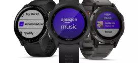 Amazon Music ទទួលបានកម្មវិធី smartwatch ដំបូងបង្អស់របស់ខ្លួន