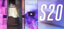 ទូរស័ព្ទស៊េរីថ្មី Galaxy S20 គឺជាទូរស័ព្ទដំបូងរបស់ក្រុមហ៊ុន Samsung ដែលអាចថតវីដេអូបាន 8K