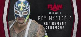 អ្នកកីឡាកាសល្បីល្បាញ Rey Mysterio ប្រកាសចូលនិវត្តន៍ 