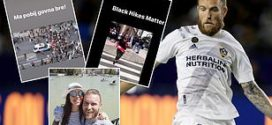 Aleksandar Katai ចាកចេញពីក្លឹប LA Galaxy បន្ទាប់ពីប្រពន្ធគាត់បង្ហោះលើ Instagram ពីការរើសអើងជាតិសាសន៍