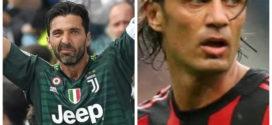 Buffon វ៉ាដាច់ Maldini ក្លាយជាកីឡាករបង្ហាញខ្លួនច្រើនជាងគេនៅ Serie A