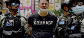 ប៉ូលិសហុងកុង ឃាត់ខ្លួនបាតុករម្នាក់ ប្រើប្រាស់ទង់មួយមានសរសេរពាក្យថា «Hong Kong Independence ឬឯករាជ្យរបស់ហុងកុង»