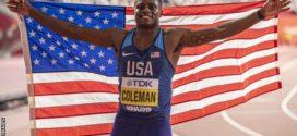 Christian Coleman បានហាមឃាត់រយៈពេល២ឆ្នាំចំពោះការខកខានធ្វើតេស្តរកសារធាតុញៀន