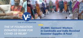 មូលនិធិវីអេហ្វ  (The VF Foundation) បានធ្វើការជាមួយអង្គការមិនស្វែងរកប្រាក់ចំណេញក្នុងស្រុក ដើម្បី ផ្តល់ធនធានសម្រាប់ជួយសង្រ្គោះដល់ជីវិតកម្មករកាត់ដេរនៅអាស៊ី ដែលរងផលប៉ះពាល់ដោយវិបត្តិកូវីដ-១៩