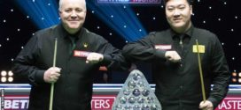 Yan Bingtao ផ្តួល John Higgins ឈ្នះពានរង្វាន់ស្នូកឃ័រ Masters 2021
