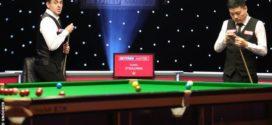 Ronnie O'Sullivan ផ្តួល Ding Junhui ក្នុងកម្មវិធីប្រកួតស្នូកឃ័រ Masters 2021