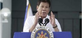 កាលពីយប់ថ្ងៃទី២៨ ខែកុម្ភៈ ប្រធានាធិបតីហ្វុីលីពីន លោក Rodrigo Duterte បានព្រមាន កាត់ផ្តាច់ទំនាក់ទំនងយោធាជាមួយអាមេរិក ប្រសិនបើលោករកឃើញថា អាមេរិកបានរក្សាទុកគ្រាប់បែកបរមាណូនៅក្នុងប្រទេសនេះ ពេលនាវាអាមេរិកចូលចតនៅក្នុងប្រទេសហ្វុីលីពីន