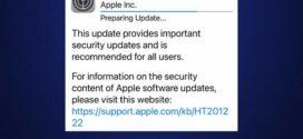 Apple បានធ្វើបច្ចុប្បន្នភាពកម្មវិធី iOS សម្រាប់ទូរស័ព្ទ iPhone ទាក់ទងនឹងបញ្ហាសុវត្ថិភាព