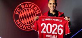 កីឡាករវ័យក្មេង Musiala ចុះកុងត្រាជាមួយ Bayern Munich រហូតដល់ឆ្នាំ២០២៦