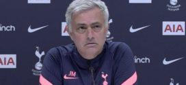 Jose Mourinho ផ្តោតតែយកតំណែងលេខ៤ មិនចាប់អារម្មណ៍លេងLeague Cupវគ្គផ្តាច់ព្រ័ត្រ