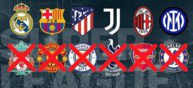 ក្រុមទាំង៦នៅ Premier League សម្រេចដកខ្លួនចេញពីការប្រកួត European Super League