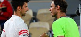 Novak Djokovic ផ្តួលជើងខ្លាំង Rafael Nadal ឡើងប៉ះ StefanosTsitsipas វគ្គផ្តាច់ព្រ័ត្រ French Open ឆ្នាំ២០២១