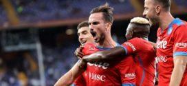 Napoli ឡើងឈរកំពូលតារាង Serie A ខណៈ Roma រកបាន៣ពិន្ទុបន្ថែម